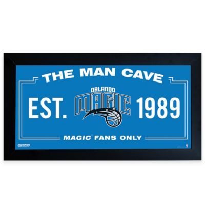 NBA Orlando Magic Large Man Cave Sign
