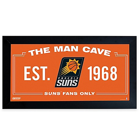 NBA Phoenix Suns Man Cave Sign Bed Bath Beyond