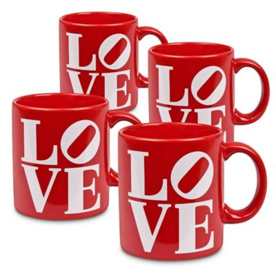 "Konitz ""Love"" Mugs (Set of 4)"