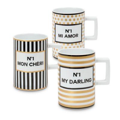 Konitz Tres Chic Mugs (Set of 3)