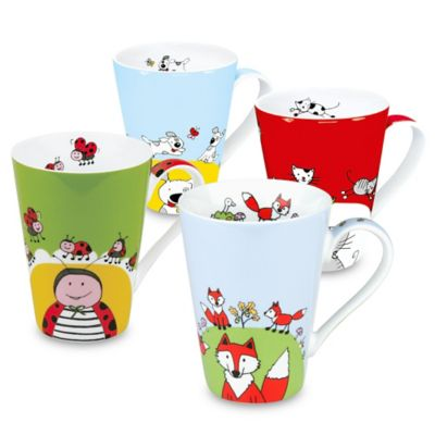 Konitz Globetrotter Animals Mugs