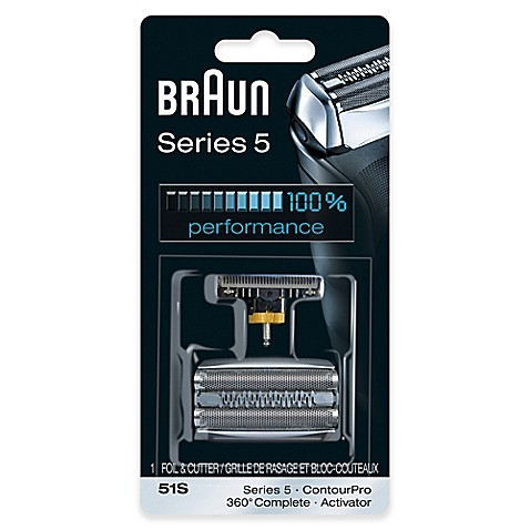 Braun® Series 5 590cc Men's Shaver Replacement Foil and Cutter