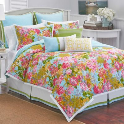 Southern Tide® Chloe Reversible Full/Queen Duvet Cover in Multi