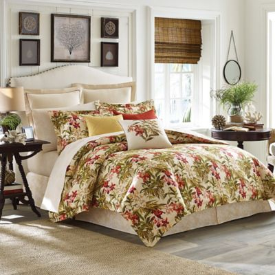 Tommy Bahama® Daintree Tropic Queen Duvet Cover Set in Ivory