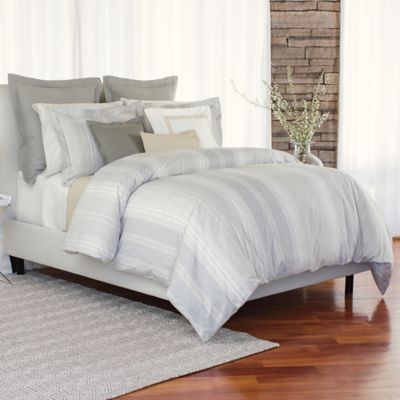Bellora® Luxury Italian-Made Lia King Duvet Cover in Grey