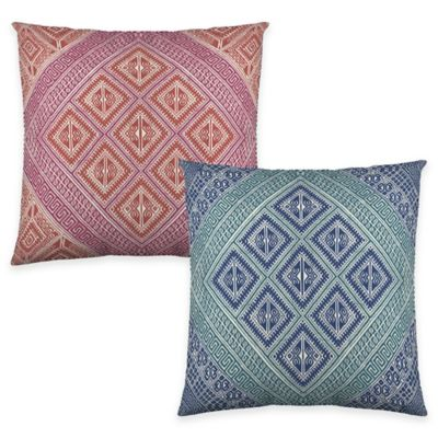 Colorfly™ Kensie Throw Pillow in Coral (Set of 2)