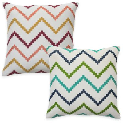 Colorfly™ Wren Throw Pillow in Sorbet (Set of 2)