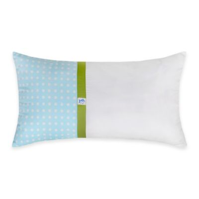 White/Blue Throw Pillows