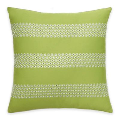 White/Yellow Throw Pillows