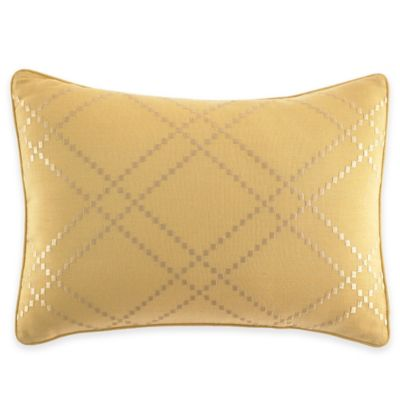 Tommy Bahama® Daintree Tropic Embroidered Breakfast Throw Pillow in Ochre