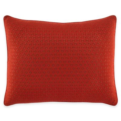 Tommy Bahama® Daintree Tropic Embroidered Breakfast Throw Pillow in Red