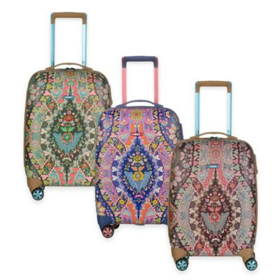 Oilily® Travel 19-Inch Carry On Trolley Suitcase in Charcoal