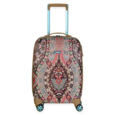 Oilily® Travel 19-Inch Carry On Trolley Suitcase in Brown