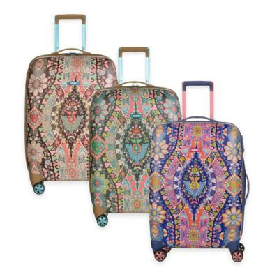 Oilily® Travel 25-Inch Trolley Suitcase in Navy