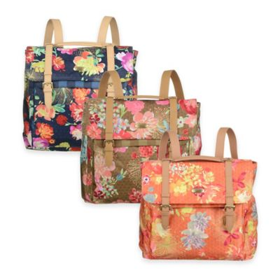 Oilily® Tropical Peony 12-Inch Backpack in Gold