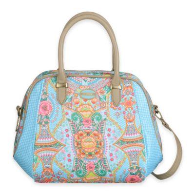 Oilily® Fun Paisley Handbag in Lagoon