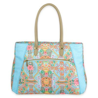 Oilily® Fun Paisley Shopper Tote in Lagoon
