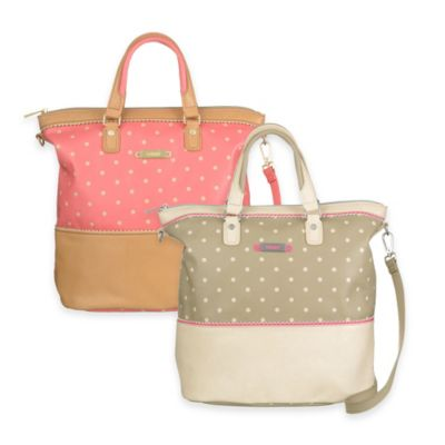 Oilily® Dotty Tote Backpack in Tan