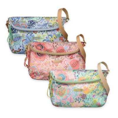 Oilily® Botanical Garden Small Flat Shoulder Bag in Mint
