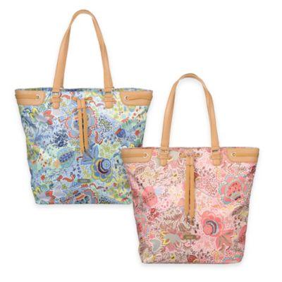 Oilily® Botanical Garden Shopper Bag in Pink