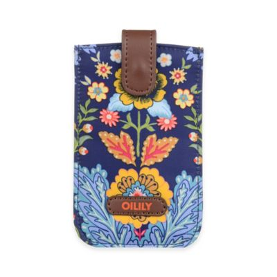 Oilily® Travel Smartphone Pull Case in Navy