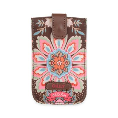 Oilily® Travel Smartphone Pull Case in Brown