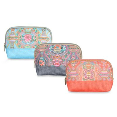 Oilily® Fun Paisley Small Toiletry Bag in Coral