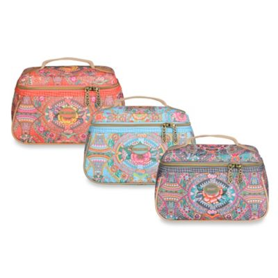 Oilily® Fun Paisley Beauty Case in Iron