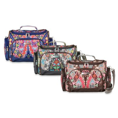 Oilily® Travel Beauty Case in Brown
