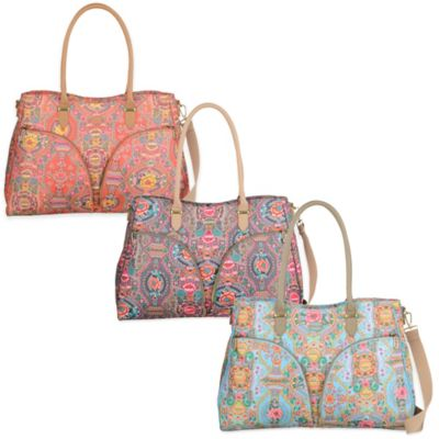 Oilily® Fun Paisley 17-Inch Carry All in Coral