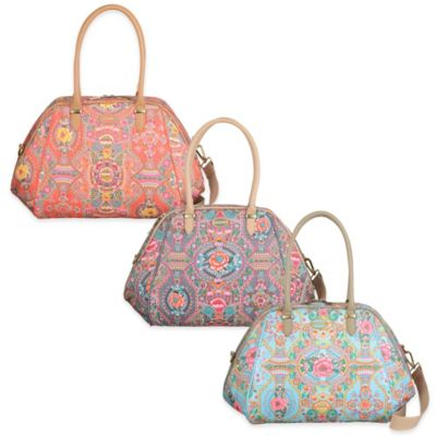 Oilily® Fun Paisley Medium Carry All in Coral