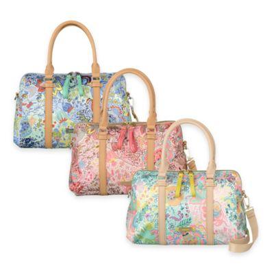 Oilily® Botanical Garden Medium Boston Bag in Coral