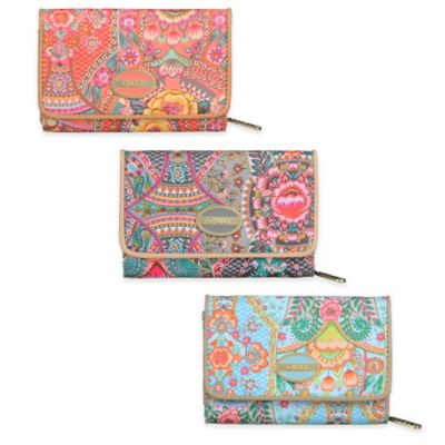 Oilily® Fun Paisley Travel Wallet Travel Accessories