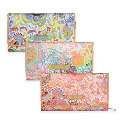 Oilily® Tropical Peony Large Wallet in Navy