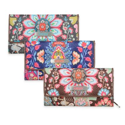 Oilily® Travel Small Wallet in Charcoal