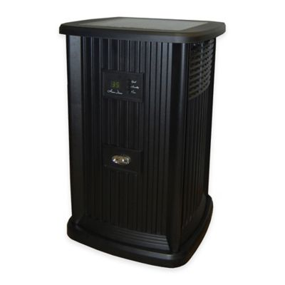 Essick Air AIRCARE Evaporative Pedestal Humidifier in Black