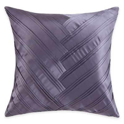 Vince Camuto® Basel Signature V Square Throw Pillow in Lilac