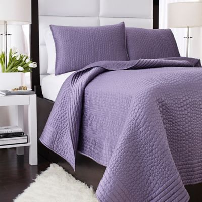 Vince Camuto® Basel Coverlet in Lilac