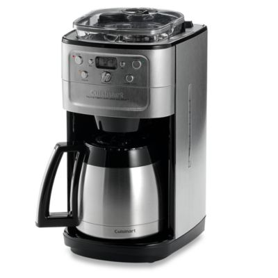 Cuisinart Automatic Grind And Brew Coffee Maker Problems : Cuisinart Grind & Brew Thermal 12-Cup Automatic Coffee Maker - www.BedBathandBeyond.com