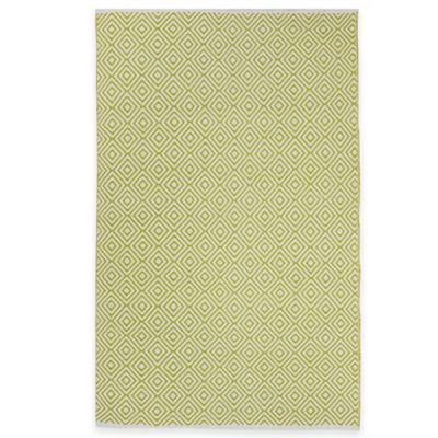 Fab Habitat Veria 3-Foot x 5-Foot Indoor/Outdoor Area Rug in Green