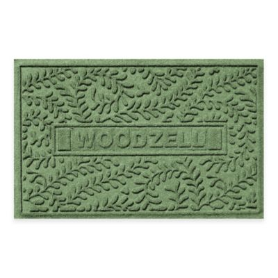 Weather Guard™ Boxwood 23-Inch x 36-Inch Door Mat in Light Green