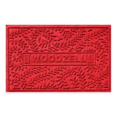Weather Guard™ Boxwood 23-Inch x 36-Inch Door Mat in Red