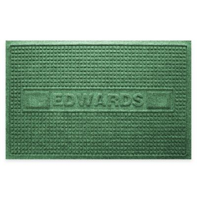Weather Guard™ Squares 23-Inch x 36-Inch Door Mat in Light Green