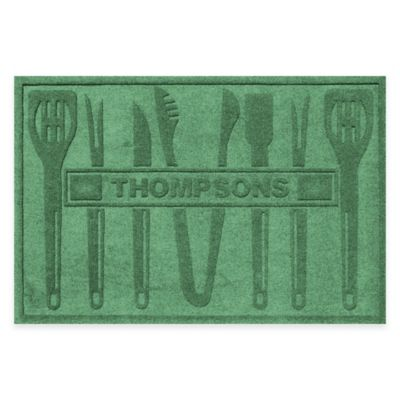 Weather Guard™ BBQ Tools 30-Inch x 45-Inch Mat in Light Green