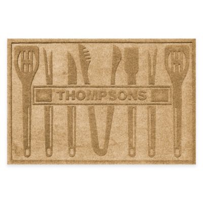 Weather Guard™ BBQ Tools 30-Inch x 45-Inch Mat in Gold