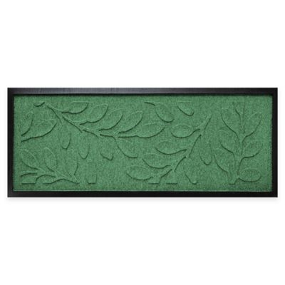 Weather Guard™ Brittany Leaf 36-Inch x 15-Inch Boot Tray in Light Green