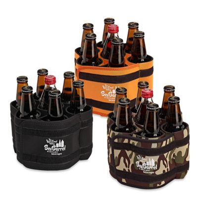 BevBarrel Portable Beverage Carrier in Black