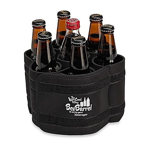 Buy Bevbarrel Portable Beverage Carrier In Black From Bed