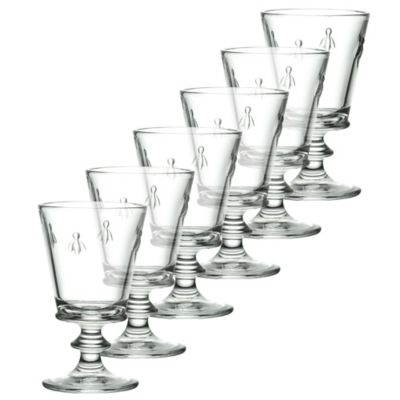 La Rochere Bee Wine Glasses (Set of 6)
