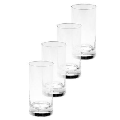 Mikasa Disco Highball Glasses (Set of 4)